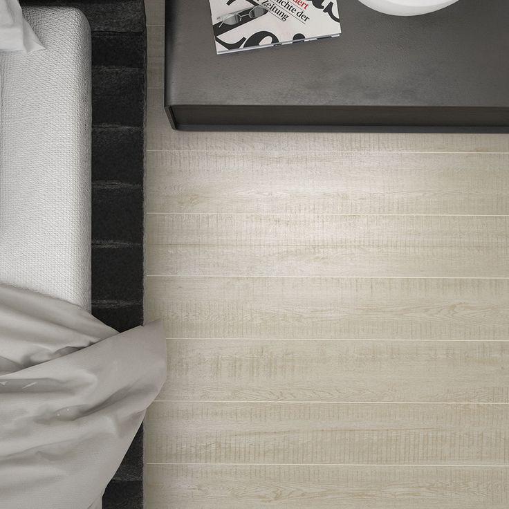 Het gezaagde effect geeft je interieur een zeer minimalistisch karakter!