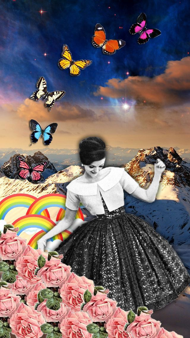 wake up in the morning by naci posca #collage