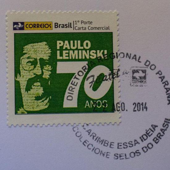 Resultado de imagem para selo de Paulo Leminski