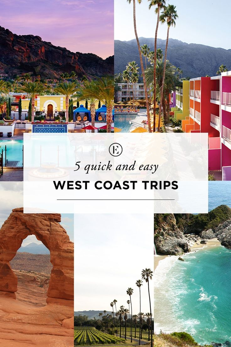 5 Weekend Road Trips for West Coast Girls #theeverygirl