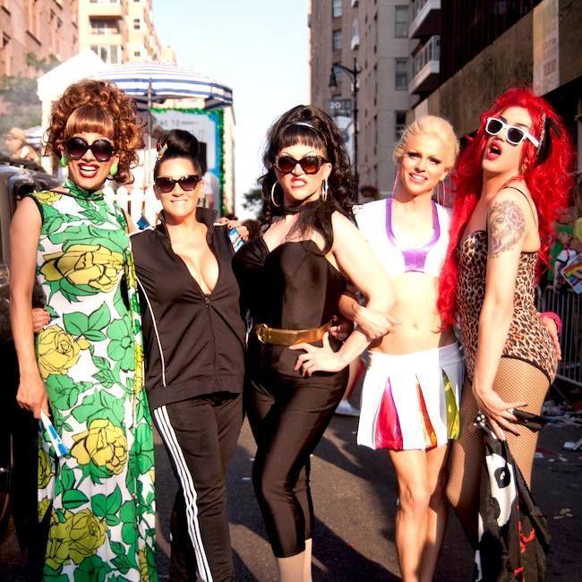 Bianca Del Rio, Michelle Visage, Ben de la Creme, Courtney Act and Adore Delano