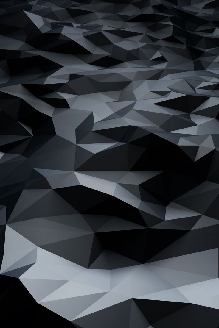 Grey Abstract Polygons Abstract Polygon Wallpaper