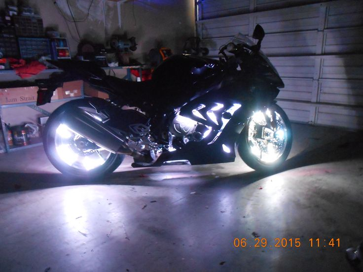 Check out these pics of this custom LED Accent Light job on this 2015 BMW S1000RR. Motorcycle ... & 192 best Motorcycle Lighting images on Pinterest   Motorcycles ... azcodes.com