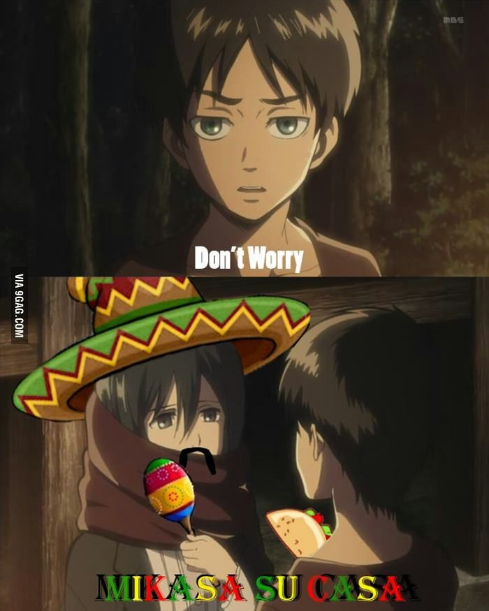 No idea why i laughed so much at this d boys and ideas for Mikasa es su casa