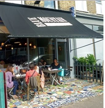 Blue Mountain Café, N Cross Road, London