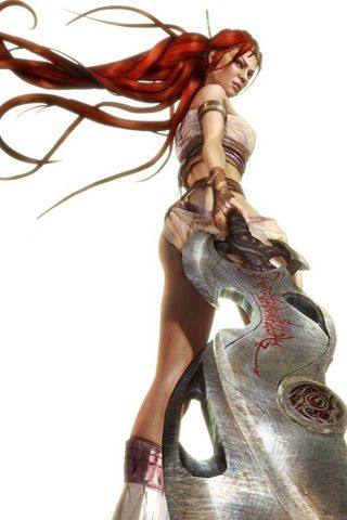 From PS3 game Heavenly Sword.