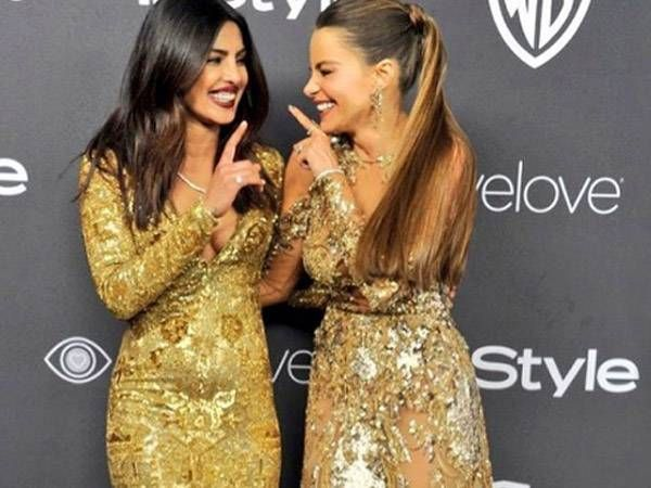 Watch: Priyanka Chopra and Sofia Vergara's cheeky elevator video from the Golden Globes after party