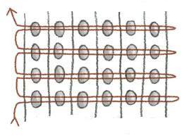 Você já ouviu falar em tecelagem com miçangas? Aposto que muitas de vocês ainda não conhecem essa técnica. Bracelete feito por Erin Simonetti Primeiro temos que entender o que é a tecelagem :Tecelagem é o ato de tecer, entrelaçar fios de trama (transversal) e urdume, ou urdidura, (longitudinal) formando tecidos.Tecidos produzidos no processo de tecelagem ...
