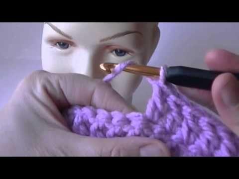 Tejido con diseño de pata de gallo - Cómo hacer una bufanda (español) - YouTube
