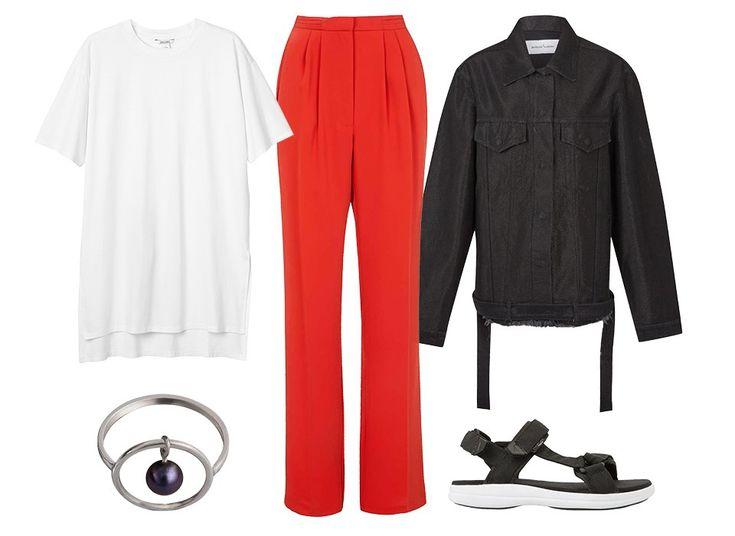С чем носить широкие брюки: 6 актуальных вариантов — Wonderzine — Wonderzine