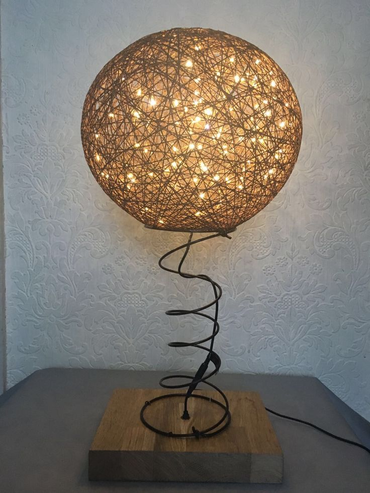 I just finished this beautiful led table lamp