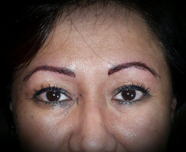 Dermopigmentacion de cejas pelo por pelo por Griselda Tatuadora 1559454688