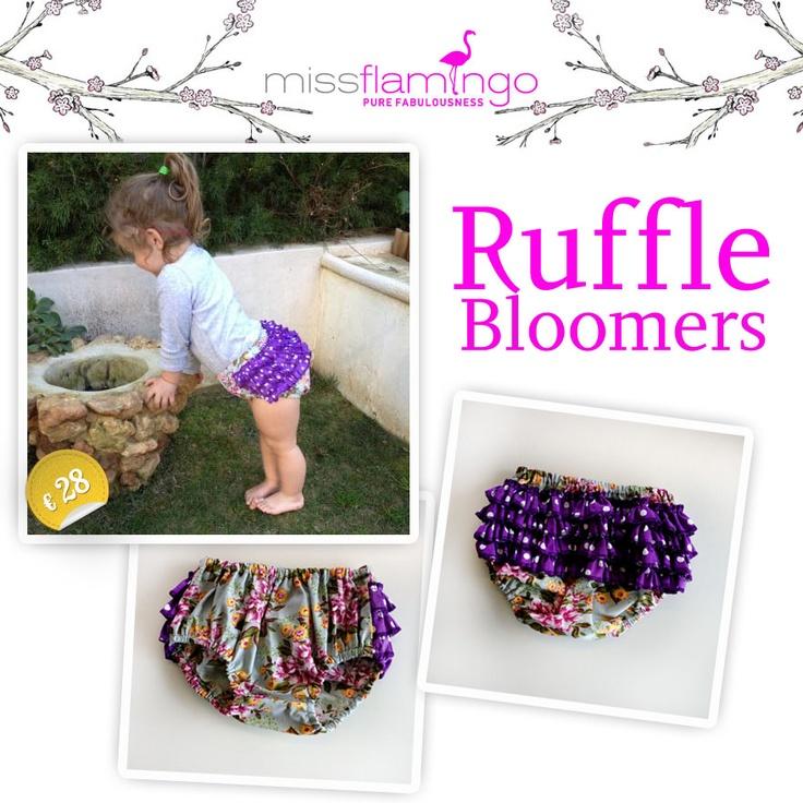 our little ruffle bloomer!!!!  http://www.missflamingo.gr