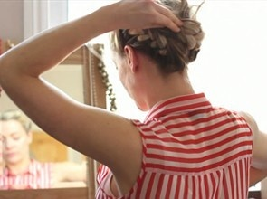 Videos | Cherry Healey double plait thing ...must master !