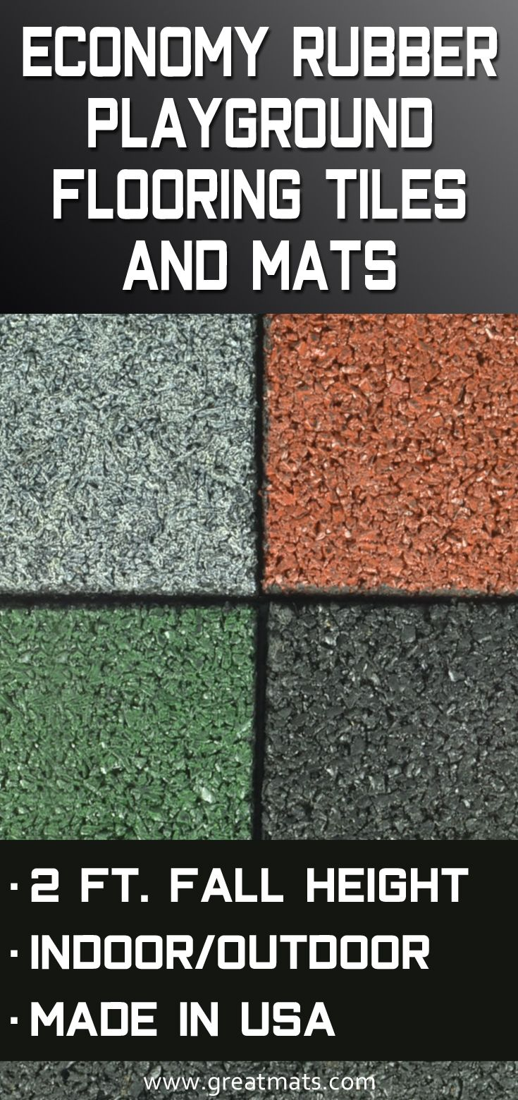Mx Outdoor Rubber Tile Is An Economical Solution To Playground