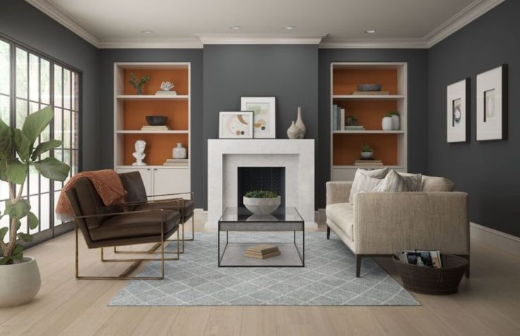 Color of the Month Rumba Orange   Colorfully BEHR in 2021   Paint color palettes, Paint colors ...