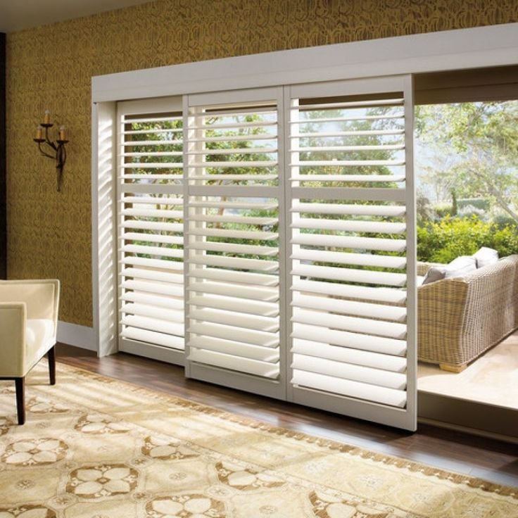 Security Shutters For Patio Doors: 25+ Best Ideas About Sliding Door Blinds On Pinterest