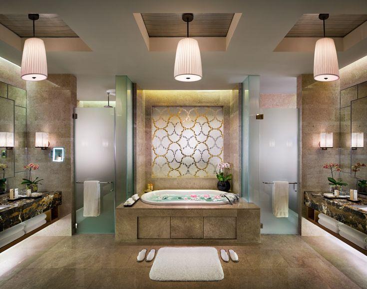216 best A hotel guest bathrooms images on Pinterest Bathroom - badezimmer qualit amp auml t