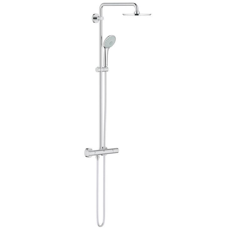 Type de robinet:Thermostatique                                                                                                                                                                               Fixation murale:Non réglable                                                                                                                                                           ...