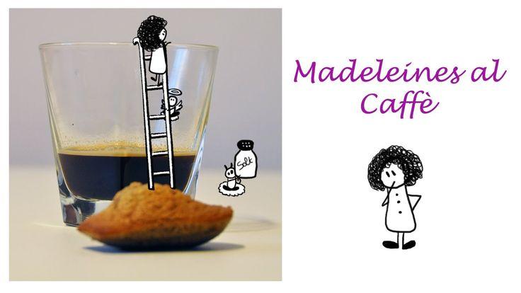 Una Papera in Cucina: Le #Madeleines al Caffè #Video #Ricetta #Medaleine #coffee #youtube #cook #kitchen