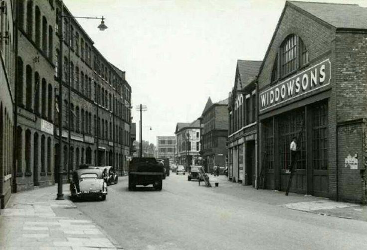 Canal Street, Nottingham c 1950s