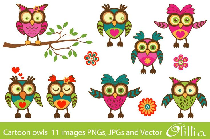 Cartoon Owls Pictures - Wallpapers High Definition