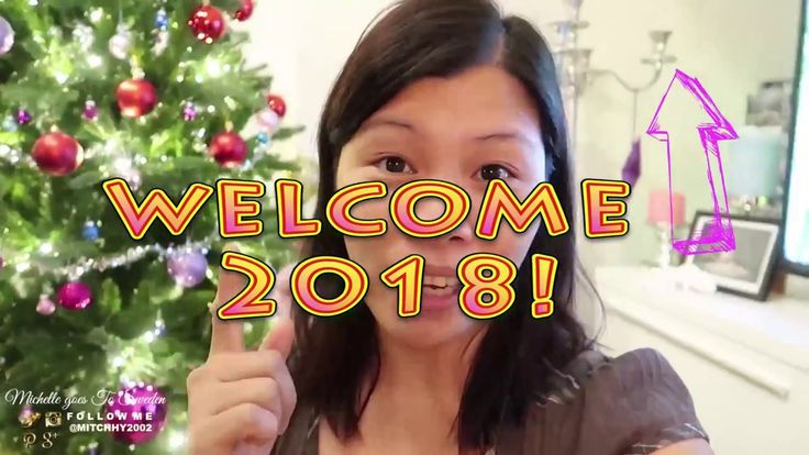 Welcome 2018 with Smile 😄|  Happy New Year Guys!  | 🇸🇪 |