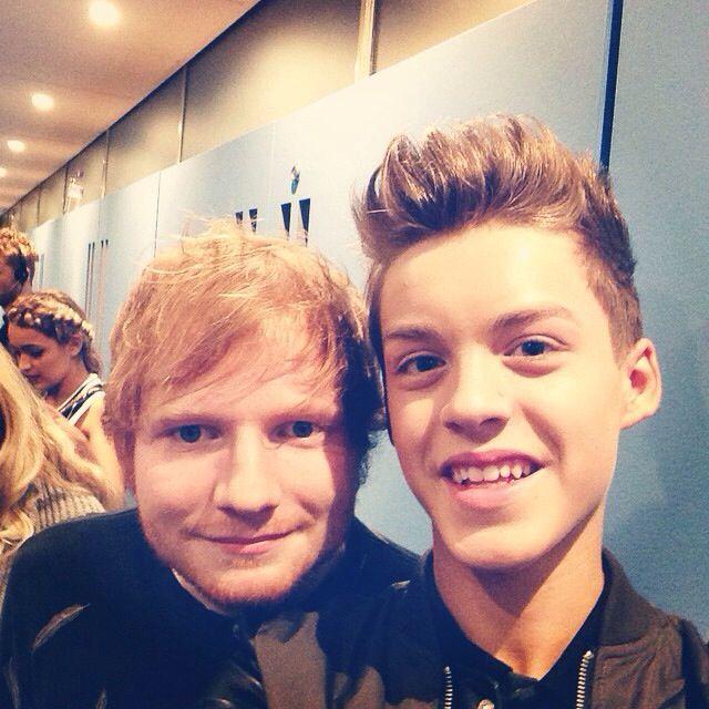 Reece and Ed Sheeran
