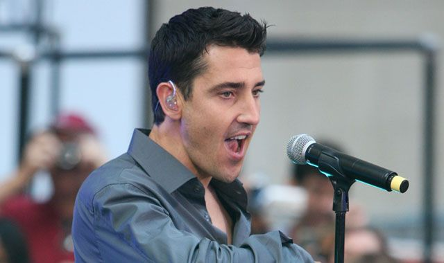 Jonathan Knight. Yes, I know. No, I don't care.