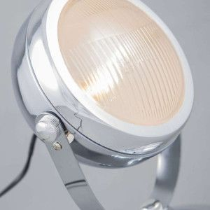Tafellamp Biker chroom - Woonkamerverlichting - Verlichting per ruimte - Lampenlicht.be