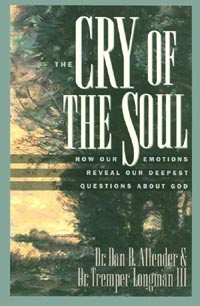 This book really help me understand that some of my emotions were good because we are made in the image of God...and He is definitely emotional.  :): Tremper Longman, Worth Reading, God, Books Worth, Soul, Emotions Reveal, Deepest Questions, Cry