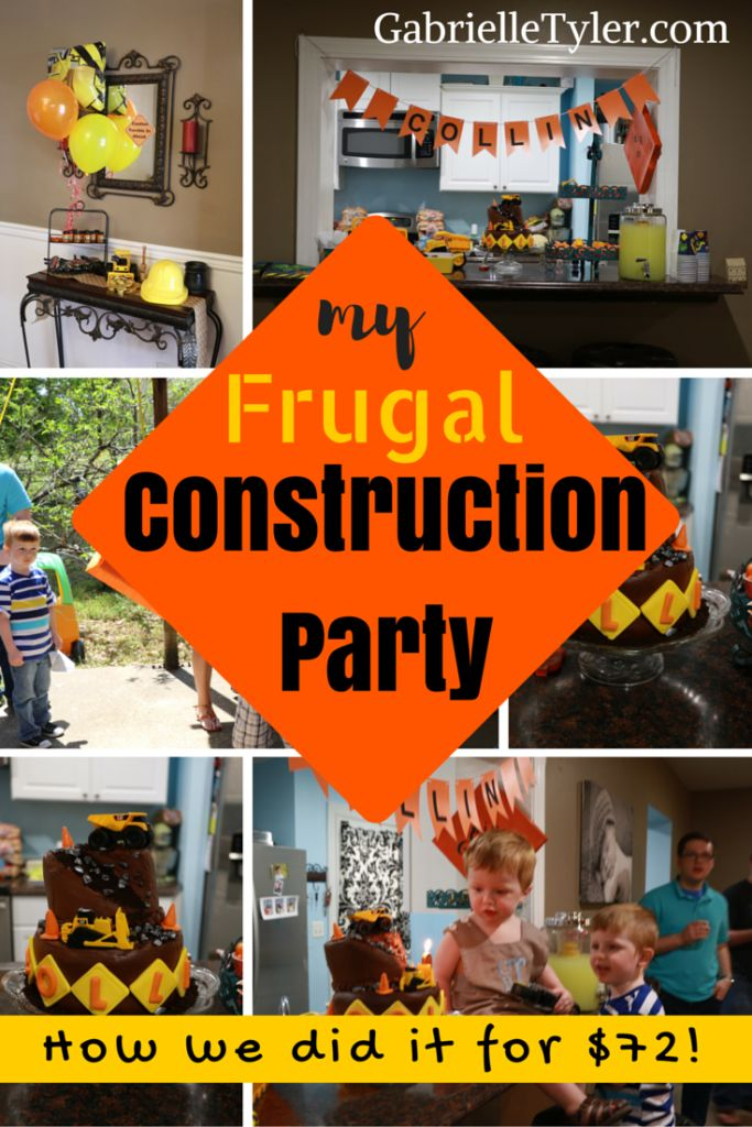 We only spent $72 and we fed everyone lunch! You can throw a frugal party without looking cheap!