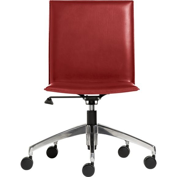 This looks like a very comfortable office chair it would be really nice to  get one of these Folio Chocolate Leather Office Chair in Office Chairs684 best Office Furniture images on Pinterest   Office furniture  . Really Nice Office Furniture. Home Design Ideas