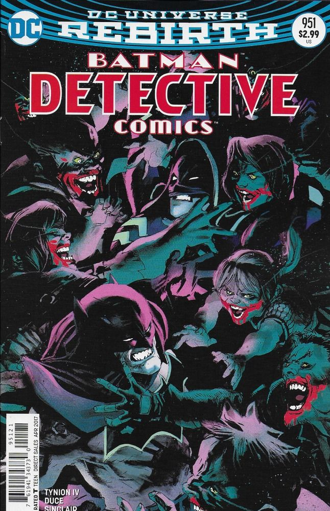 DC Universe Rebirth Batman Detective Comics issue 951 Limited variant