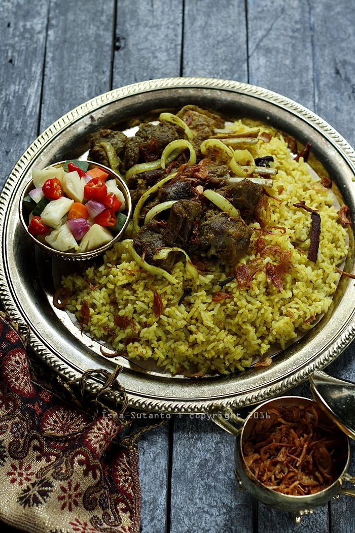 Coba Coba Yuk Nasi Kebuli Daging Kambing Makanan Dan Minuman Daging Kambing Resep Masakan Cina