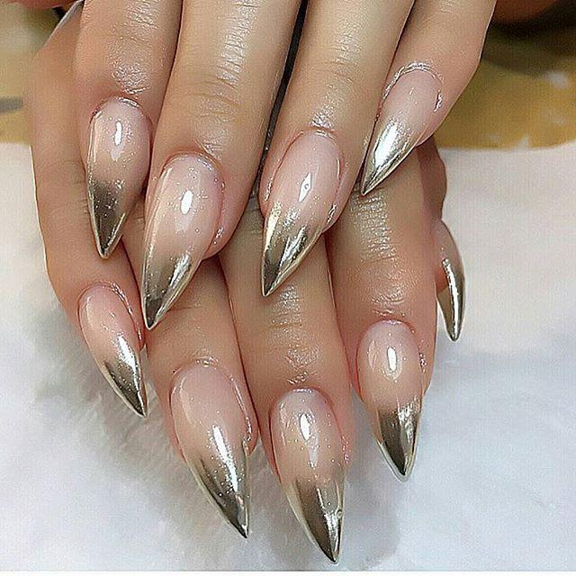 Chrom life by Tamara #chromenails #barrysbeautybar #brooklynnails #queensnails