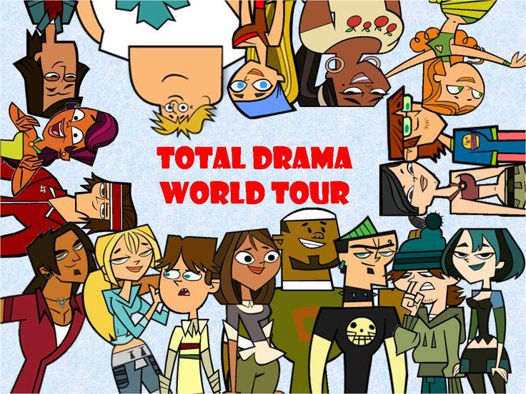 Total Drama World Tour | Total drama world tour temporada 3: tour mundial, isla del drama ...