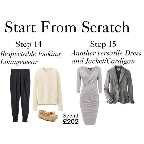 Start From Scratch - Steps 14 &15 by charlotte-mcfarlane on Polyvore featuring Uniqlo, H&M and Minnetonka