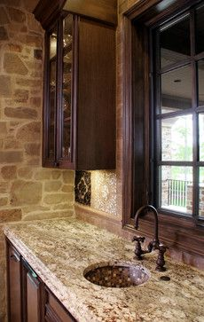 Distressed Kitchen Cabinets Design Ideas, Pictures, Remodel, and Decor
