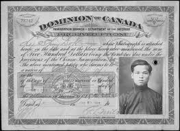 """The 1920's were especially horrible for Chinese people. At this time the government had caved in to pressure and finally enacted the Chinese exclusion law. Any one of Chinese decent was to be deported if they weren't a foreign student, an ambassador or a """"special circumstance"""" awarded by the minister of immigration. As well as those hefty restrictions Chinese people were still expected to pay a head tax which, was a law that had been introduced in 1884."""