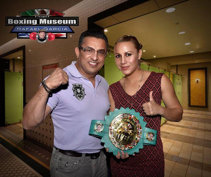 Con el deseo de ofrecer una gran pelea la Campeona Súper Mosca del Consejo Mundial de Boxeo Zulina