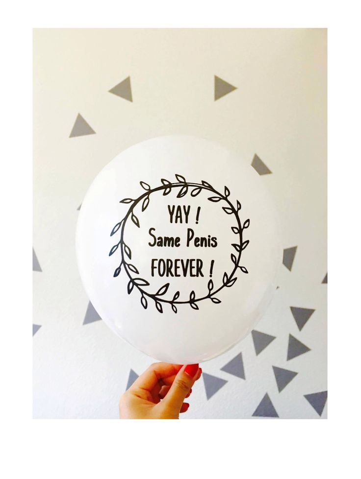 Bachelorette Party Balloons Set of 5 - Same Penis Forever Balloons - Bachelorette Decor - Bachelorette Party Ideas by EverythingSheWantsTo on Etsy https://www.etsy.com/listing/449534324/bachelorette-party-balloons-set-of-5