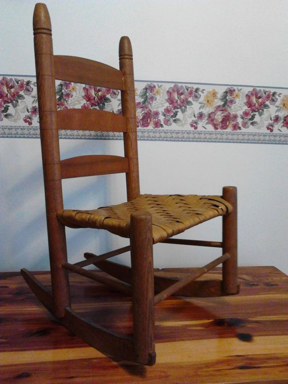 ... to Buy  Pinterest  Chairs, Childs rocking chair and Vintage children