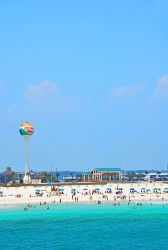 Beach at Pensacola, Florida.  LOVe this place! Can't wait to go again.
