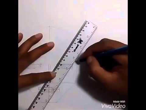 Cara mudah dan cepat menggambar wajah