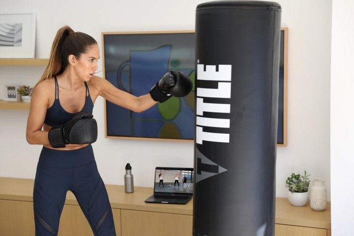 Introducing Title Boxing Club On Demand No Equipment Needed Boxing Kickboxing Strength Recovery And More O Online Workout Videos Boxing Club Title Boxing