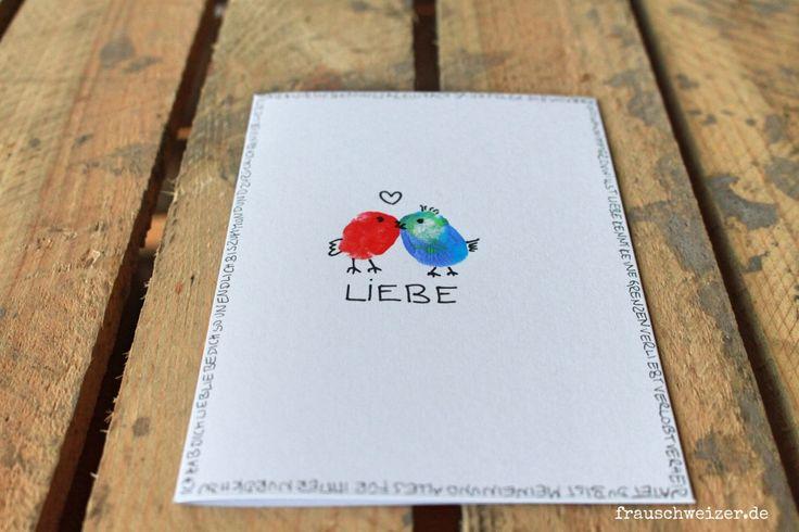 handgemachte Karte zur Hochzeit, Liebe, Wedding, Glückwunsch, Gratulation
