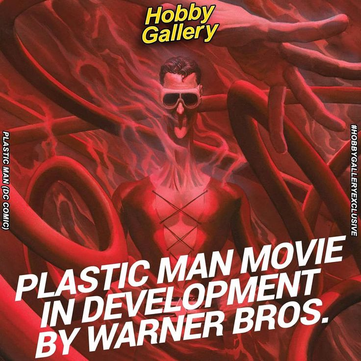 Plastic Man Movie in Development by Warner Bros. The
