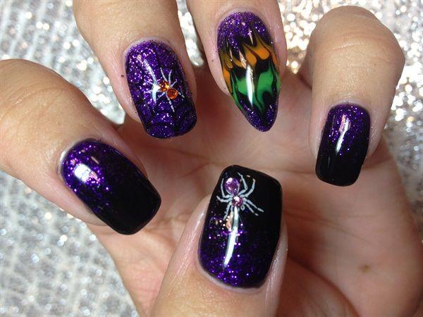 Best 25+ Scary nails ideas on Pinterest | Cute halloween ...