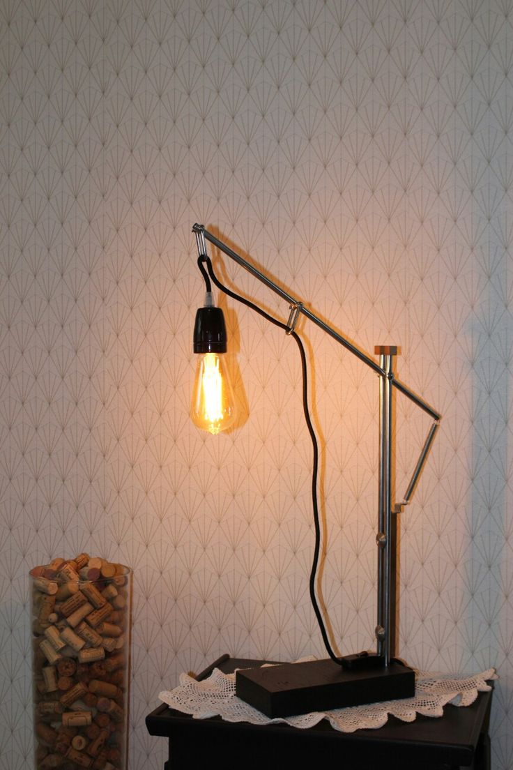 17 best lampe artisanale images on pinterest bureaus desk lamp and desks. Black Bedroom Furniture Sets. Home Design Ideas